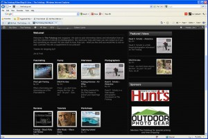 Navigating the Fotobug website