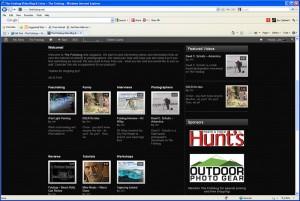 Navigating the Fotobug website